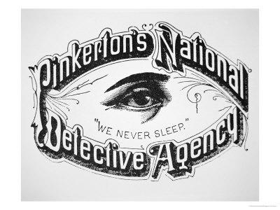 ... SLEEP...Allan Pinkerton and the Pinkerton National Detective Agency