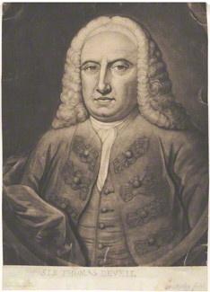 by Thomas Ryley, after William De La Cour (Delacour), mezzotint, published 1747